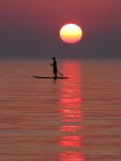 Sunset Paddleboard at Pier Cove